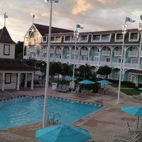 Photo taken at Disney's Beach Club Villas by Beth on 6/19/2013