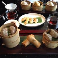 Photo taken at Mandarin Oriental, Hong Kong 香港文華東方酒店 by Aiko M. on 7/26/2013