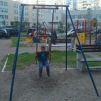 "Photo taken at Дет.площадка ""за решёткой"" by Сергей Л. on 8/18/2014"