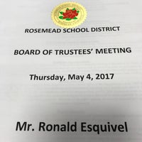 Photo taken at Rosemead School District by Ron E. on 5/5/2017