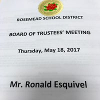 Photo taken at Rosemead School District by Ron E. on 5/19/2017