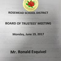 Photo taken at Rosemead School District by Ron E. on 6/20/2017