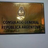 Photo taken at Consulado Argentino by Jenn B. on 11/5/2012
