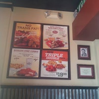 Photo taken at Wingstop by Darth R. on 5/10/2013