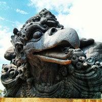 Photo taken at Garuda Wisnu Kencana (GWK) Cultural Park by Alexander K. on 6/17/2013