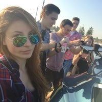 Photo taken at Берег Волги by Maria G. on 8/19/2016