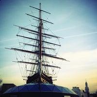Photo taken at Greenwich Pier by Alvaro N. on 2/20/2013