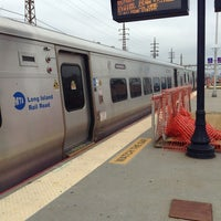 Photo taken at LIRR - Woodside Station by Greg0ry T. on 4/11/2013
