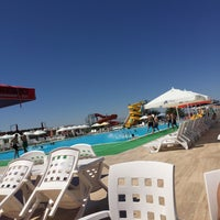 Photo taken at Aqua City  Malatya ( Aquapark) by Gizem Ö. on 9/3/2017