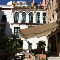 Photo taken at TOC Hostel Sevilla by Nedra on 6/21/2016