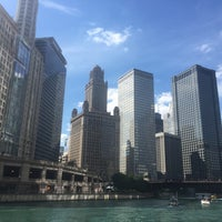 Photo taken at Chicago Water Taxi (Michigan) by Nina C. on 9/4/2016