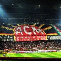 """Photo taken at Stadio San Siro """"Giuseppe Meazza"""" by Chiara C. on 4/14/2013"""