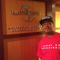 Photo taken at Universal Studio Screening Room by james l. on 7/27/2013