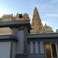 Photo taken at Shri Shiva Vishnu Temple by Vignesh A. on 8/23/2014