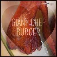 Photo taken at Giant Chef Burger by Stephanie A. on 5/12/2013