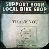 Photo taken at Larkspur Bike-N-Bean by Stephanie A. on 1/26/2013