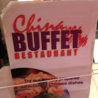 Photo taken at China Buffet by Catherine W. on 11/19/2012