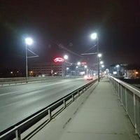 Photo taken at Панаирен мост (Plovdiv Fair bridge) by Valio on 2/11/2017