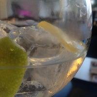 Photo taken at QB Cocktails & Bar by Xavi C. on 4/23/2014