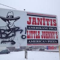 Photo taken at Little Johnny's | Jānītis Picērija by Karina K. on 12/7/2012