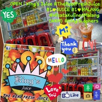 Photo taken at King's Juice by Sandy F. on 9/7/2013