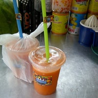 Photo taken at King's Juice by Sandy F. on 4/2/2014