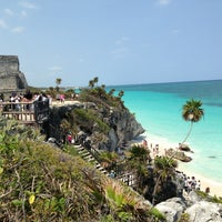 Photo taken at Tulum Archeological Site by Teresa L. on 5/5/2013