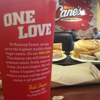 Photo taken at Raising Cane's Chicken Fingers by Jessica G. on 12/20/2012