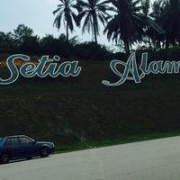 Photo taken at Setia Alam Eco Park by Zaty S. on 4/16/2017