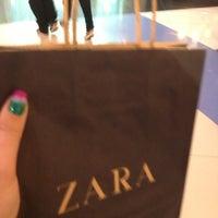 Photo taken at Zara by Syzrantseva J. on 11/23/2012