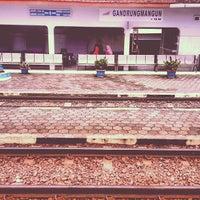 Photo taken at Stasiun Gandrungmangun by ℝossi♛ on 12/23/2012