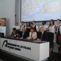 Foto tomada en Paraninfo de la ULPGC por Universidad de Las Palmas de Gran Canaria U. el 7/17/2015