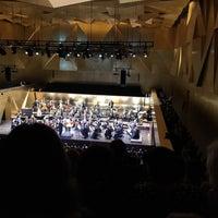 Photo taken at Filharmonia im. Mieczysława Karłowicza w Szczecinie by Fatih Y. on 3/17/2017
