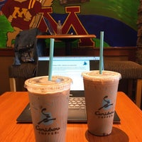 Photo taken at Caribou Coffee by Kyungin P. on 8/1/2017