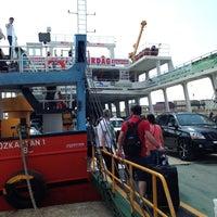 Photo taken at oz kaptan gemisi avsa tekirdag by E 🎀 D. on 8/8/2013