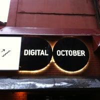 Снимок сделан в Digital October пользователем Victoria A. 12/7/2012