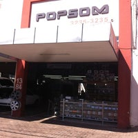 Photo taken at POP SOM by Daniel F. on 7/17/2013