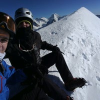 Photo taken at Breithorn occidentale by Ștefan G. on 1/21/2017
