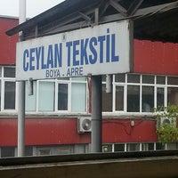 Photo taken at Ceylan Tekstil Apre ve Boya Tic Ltd Şti by Duygu P. on 8/1/2013