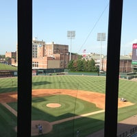 Photo taken at AutoZone Park by Benjamin N. on 6/12/2013