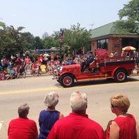 Photo taken at Glen Ellyn Volunteer Fire Company by Benjamin N. on 7/4/2015