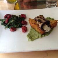Photo taken at Leaf Vegetarian Restaurant by Alan C. on 4/21/2013