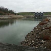 Photo taken at Lake Shelbyville West Dam Access by *Daniel* W. on 11/7/2012