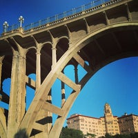 Photo taken at Colorado Street Bridge by Jason K. on 5/12/2013