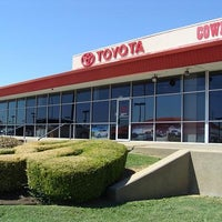 Photo taken at Cowboy Toyota by David T. on 10/30/2012