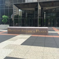 Photo taken at Bank of America Plaza by Dilnazik N. on 5/7/2016