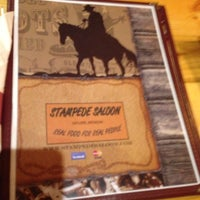 Photo taken at Stampede Saloon by Michael T. on 12/29/2012