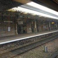 Photo taken at Weston-super-Mare Railway Station (WSM) by Emma S. on 12/17/2012