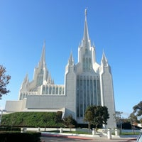 Photo taken at San Diego California Temple by Mitch C. on 11/25/2012