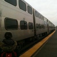 Photo taken at Metra - Elmhurst by John O. on 12/7/2012